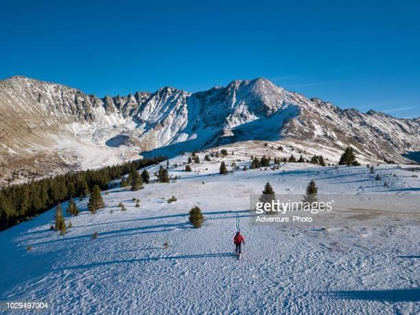 Backcountry Ski Tour with Scenic Mountains