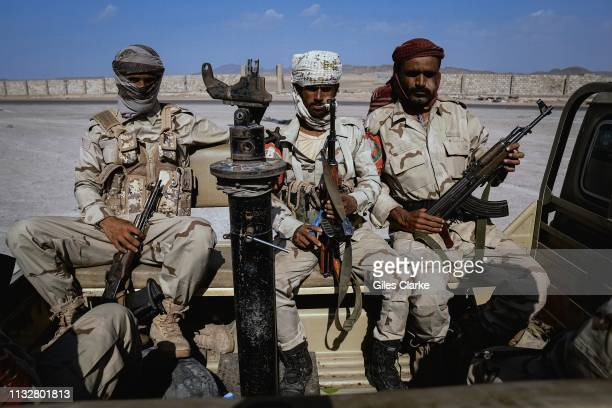 E backed Yemeni troops at a checkpoint on November 24 2018 in AdenYemen The United Arab Emirates provide funding and training for local Yemeni...