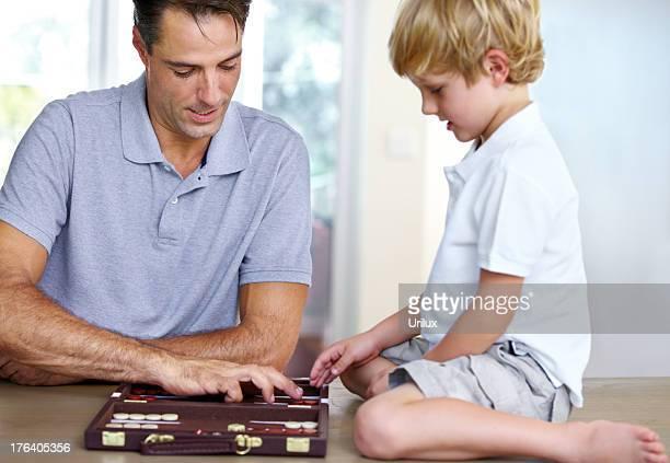 Backgammon leçon une