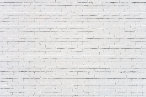 Background: brick wall painted white 183387282