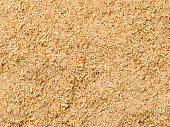 A background filled with sawdust