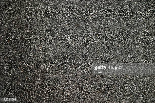 Background: Freshly Pressed Asphalt Blacktop