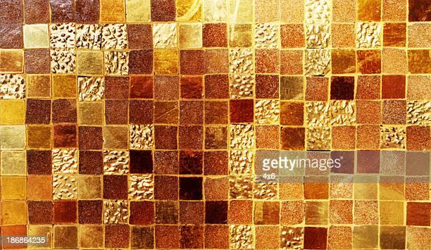 Background - Golden Mosaic