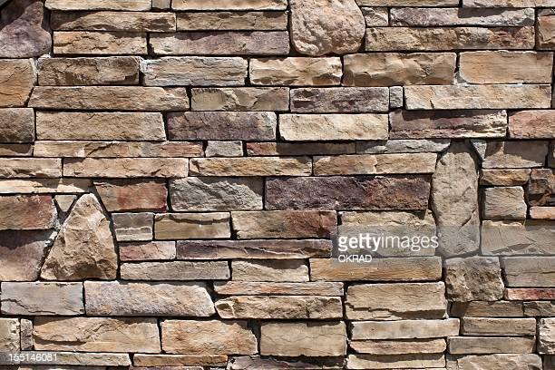 Background of a beautiful stone wall