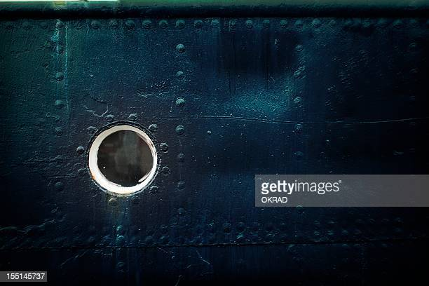 background of a ships porthole - effect - porthole stock photos and pictures