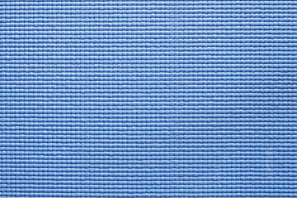 Background Of Blue Yoga Mat Texture And Seamless