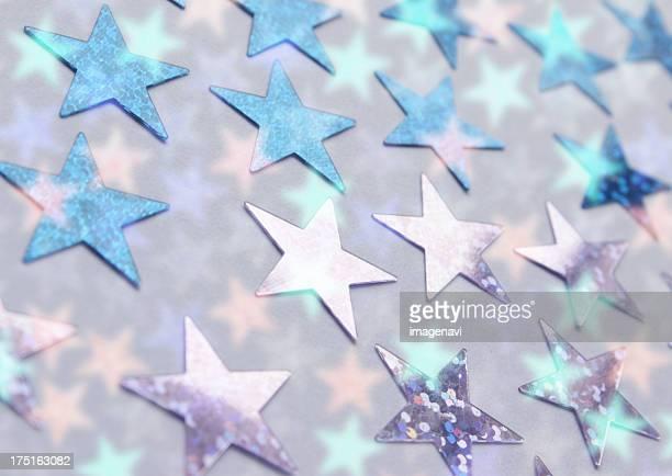 Background of star shape