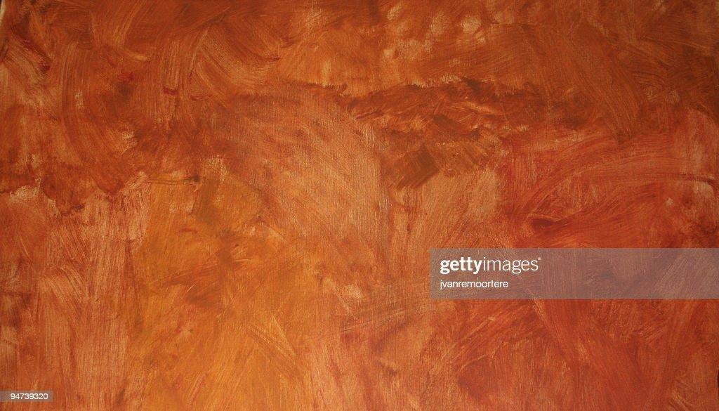 Background of weathered orange wall : Stock Photo