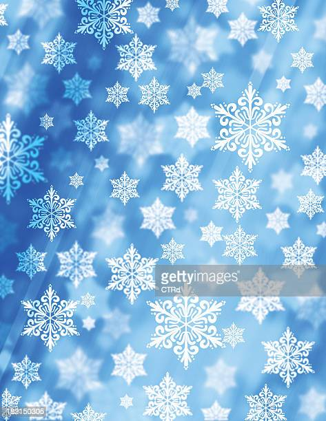 background snowflakes - happy new month stock photos and pictures