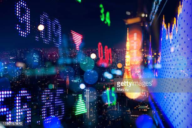background stock market and finance economic - dow jones industrial average stock pictures, royalty-free photos & images