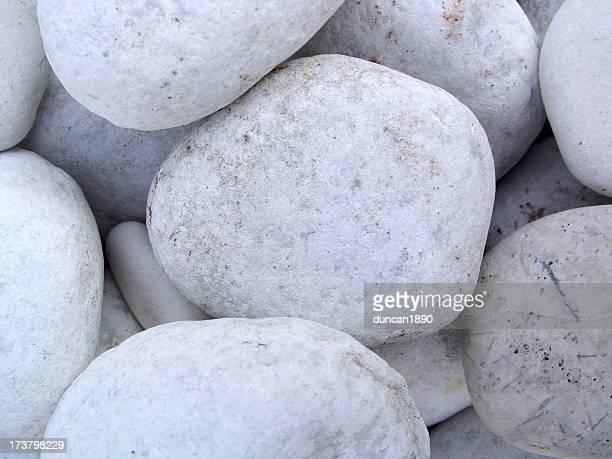 Background White Stones