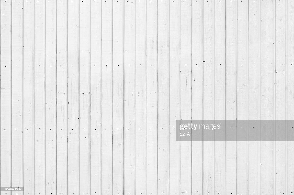 Background Wood Panelling Painted White