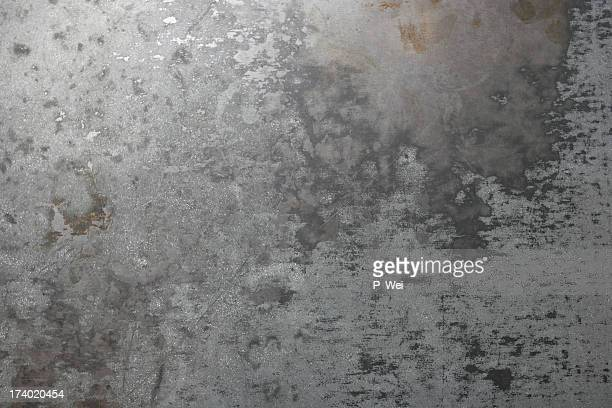 background: worn sheet metal - metallic stock photos and pictures