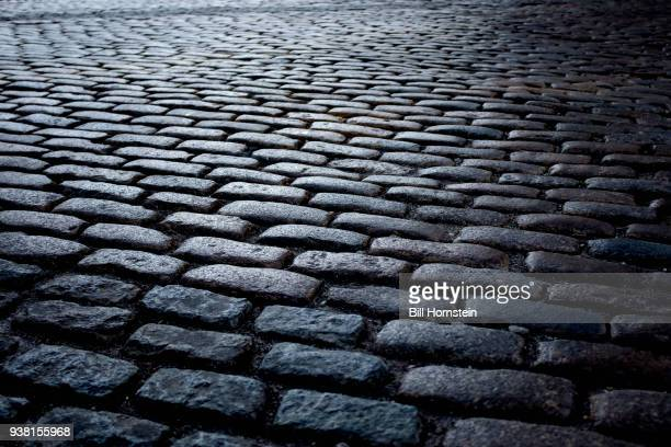 backgrounds - cobblestone stock pictures, royalty-free photos & images