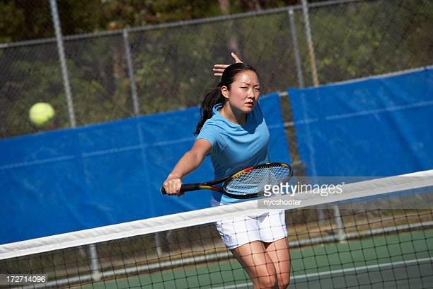 Backhand volley