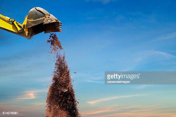 backhoe - digging stock pictures, royalty-free photos & images