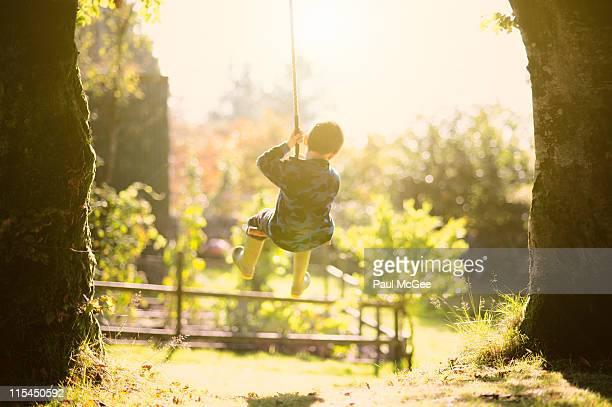 Backlight rope swing