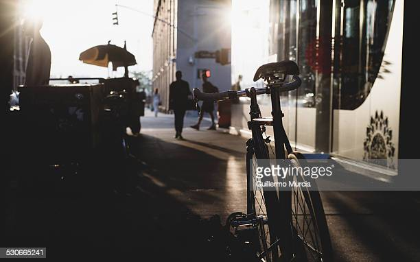 Backlit bicycle