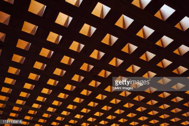 backlit cutout squares - continuity stock pictures, royalty-free photos & images