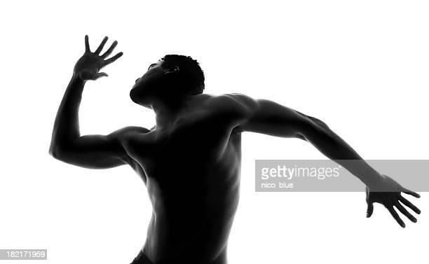 Bailarín de retroiluminación