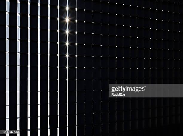 Leuchtendes grid