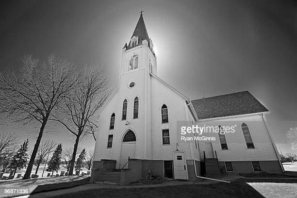 backlit hdr church - ryan mcginnis stock photos and pictures