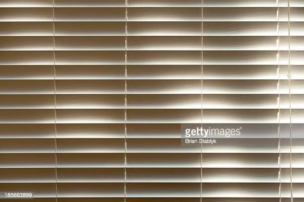 Backlit indoor window blind