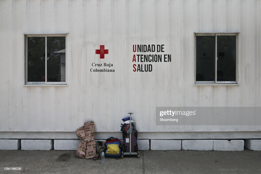 Border City Prepares To Receive Humanitarian Aid As Lima Group Calls On Venezuela Armed Forces To Allow Aid Through : News Photo