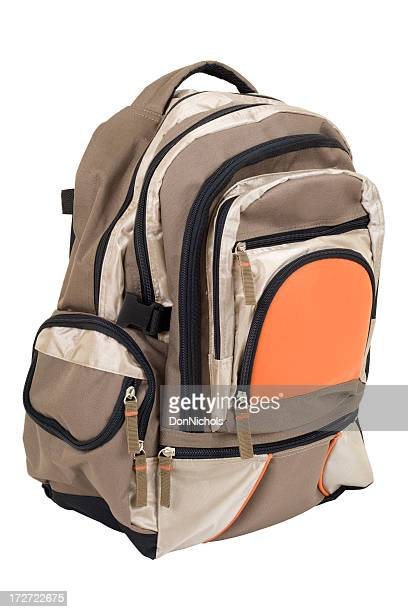 Backpack Isolated With Clipping Path