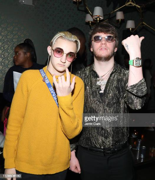 Backpack Kid and Murda Beatz attend Murda Beatz 25th Birthday GRAMMY Celebration on February 08 2019 in West Hollywood California