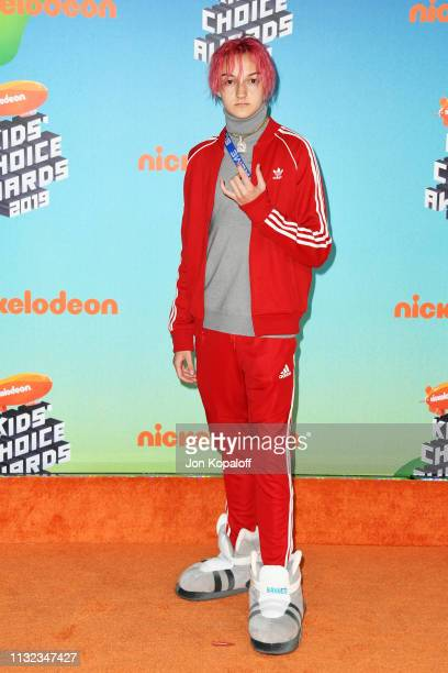 Backpack Kid attends Nickelodeon's 2019 Kids' Choice Awards at Galen Center on March 23 2019 in Los Angeles California