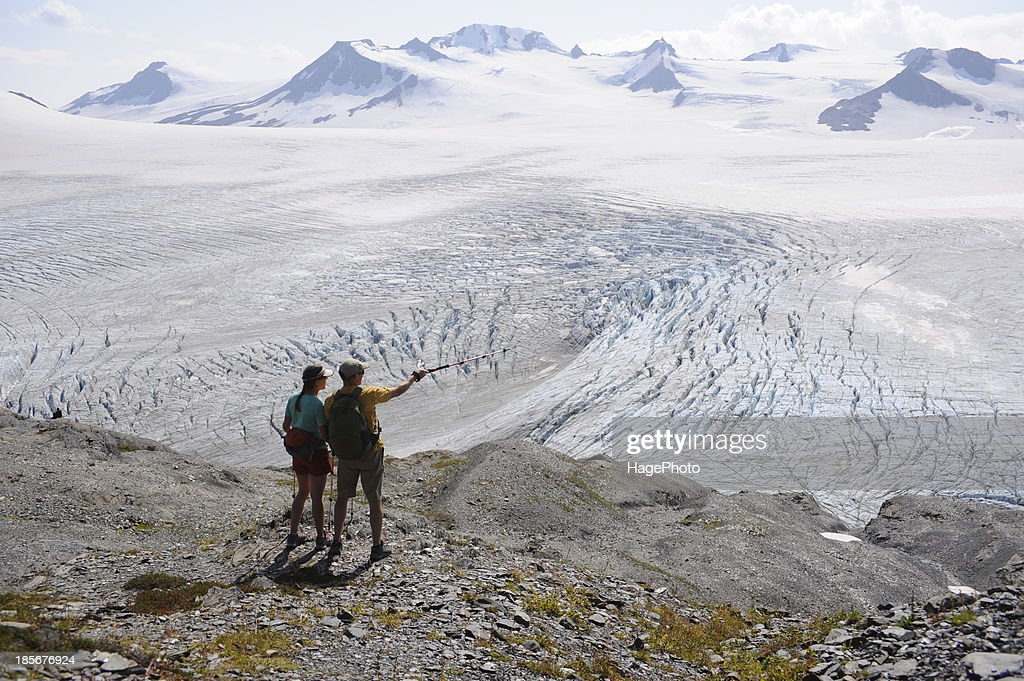 Backpacker Hikes The Harding Icefield Trail In Kenai Fjords National