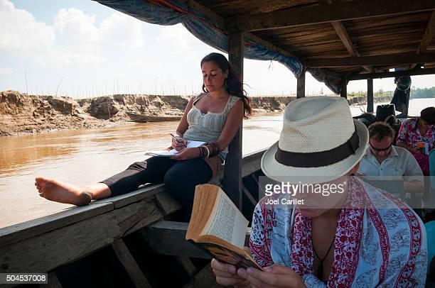 Backpackers de ler e gravar na Birmânia