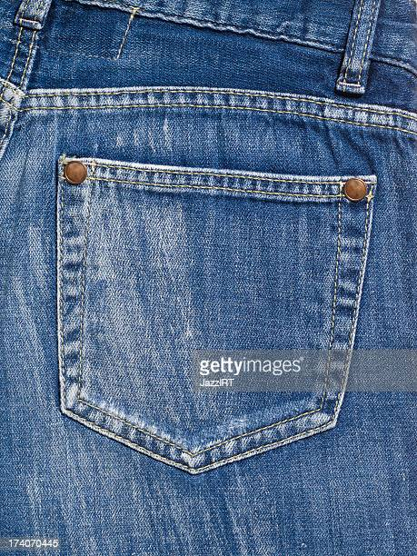 backpocket of jeans - jeans stock pictures, royalty-free photos & images