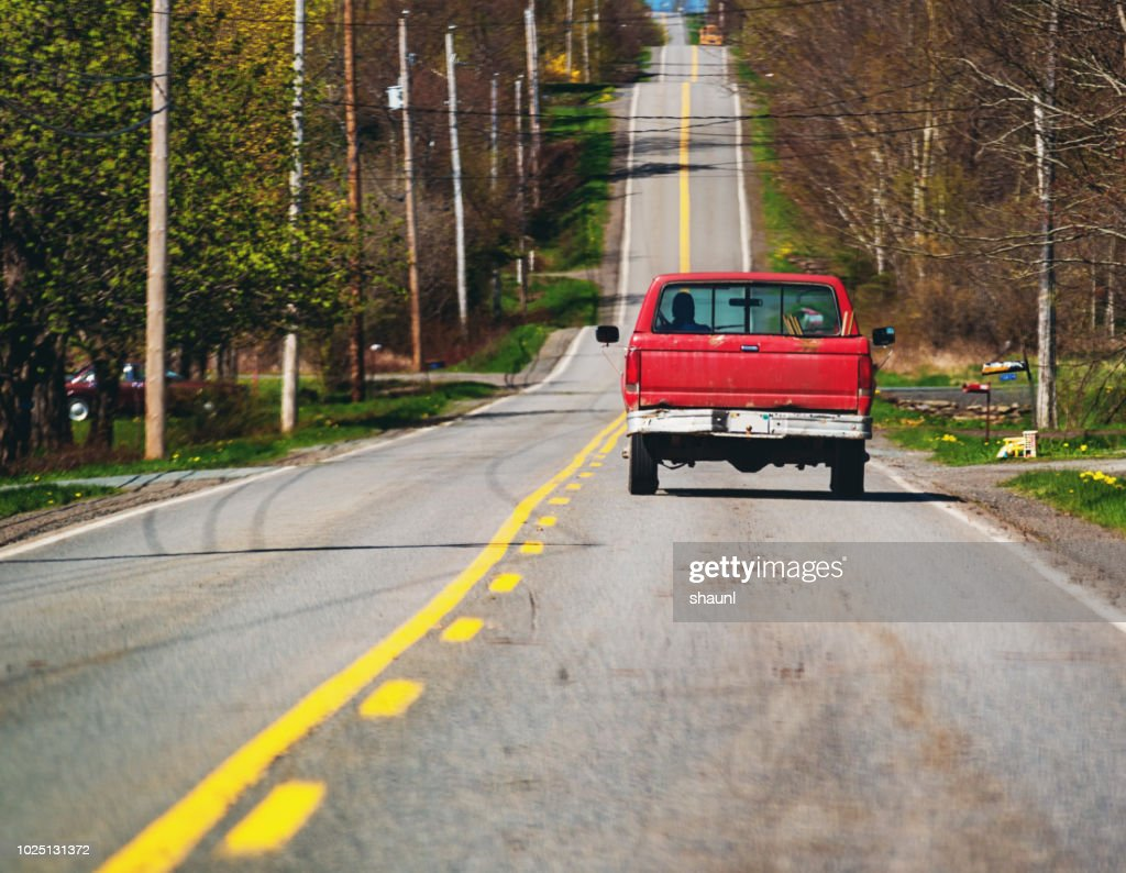 Backroad Drive : Stock Photo