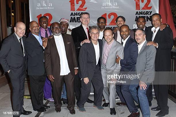 Backrow Keith David Adolphus Ward Greg North Jeff Williams Bradford Tatum Jason George Phil Morris frontrow Robert Picardo Sheldon Epps Ellis E...