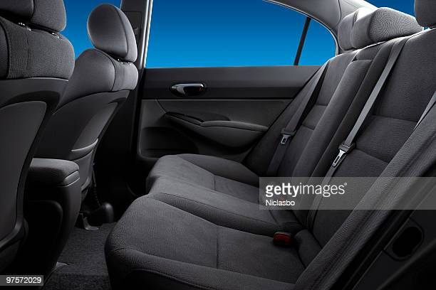 backseat - car interior stock pictures, royalty-free photos & images