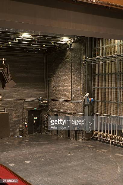backstage at a theater - opera stage stock pictures, royalty-free photos & images