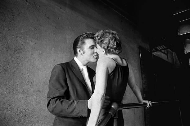 VA: 30th June 1956 - Elvis Presley And Bobbi Owens Share A Backstage Kiss