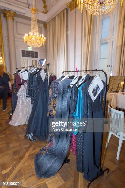 Backstage for Jesper Hovring fashion show the Copenhagen Fashion Week Autumn/Winter 18 on February 1 2018 in Copenhagen Denmark