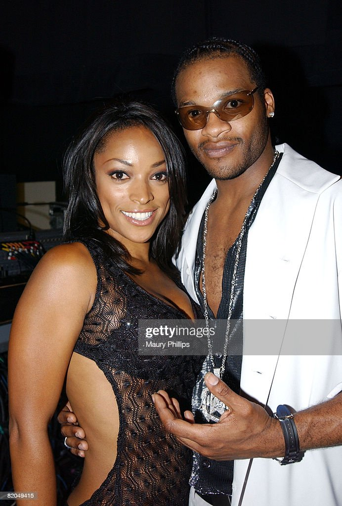 Backstage, Kellita Smith from 'The Bernie Mac Show' and singer Jaheim