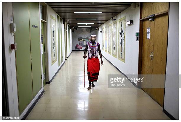 Backstage of Madiba The African Opera at the State Theatre on May 22 2014 in Pretoria South Africa The opera focuses on Nelson Mandelas upbringing in...