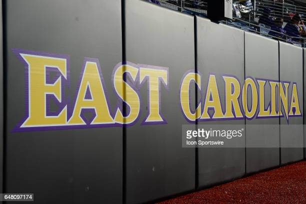 Backstop at ClarkLeClair Stadium in a game between the St Johns Red Storm and the East Carolina Pirates during the Keith LeClair Classic on March 4...