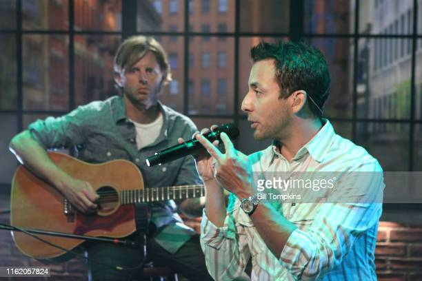 Backstreet Boys appear on the TV show PRIVATE SESSIONS on June 10 2010 in New York City