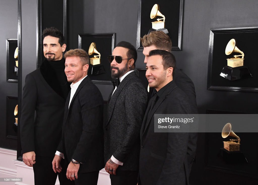61st Annual Grammy Awards: Backstreet Boys Attend The 61st Annual GRAMMY Awards At