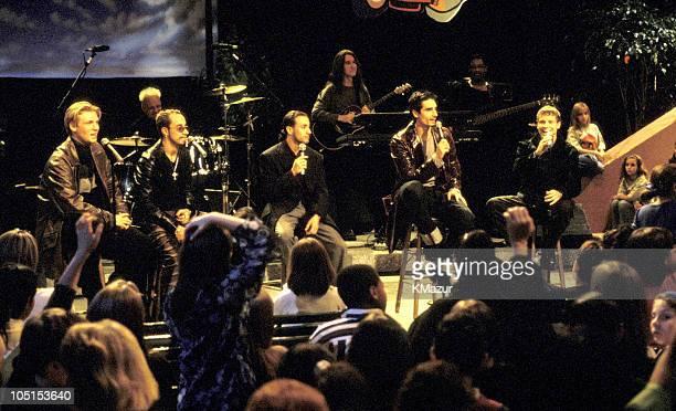 Backstreet Boys during VH1 Storytellers Backstreet Boys in New York City New York United States