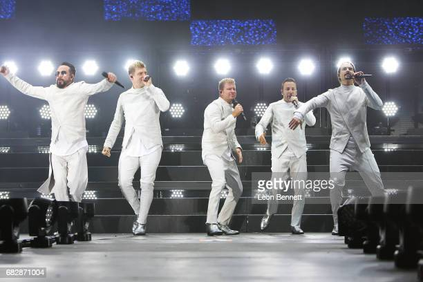 Backstreet Boys performs on stage at 1027 KIIS FM's 2017 Wango Tango at StubHub Center on May 13 2017 in Carson California