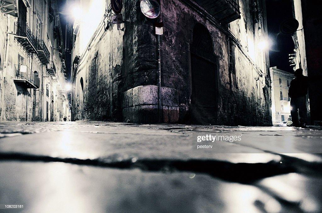backstreet corners : Stock Photo