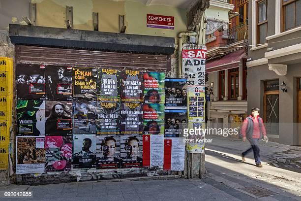 Backstreet of Galata neighbourhood, Istanbul
