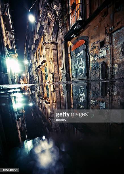 Backstreet reflections.